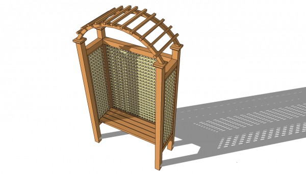 Arbor Bench Plans Myoutdoorplans Free Woodworking