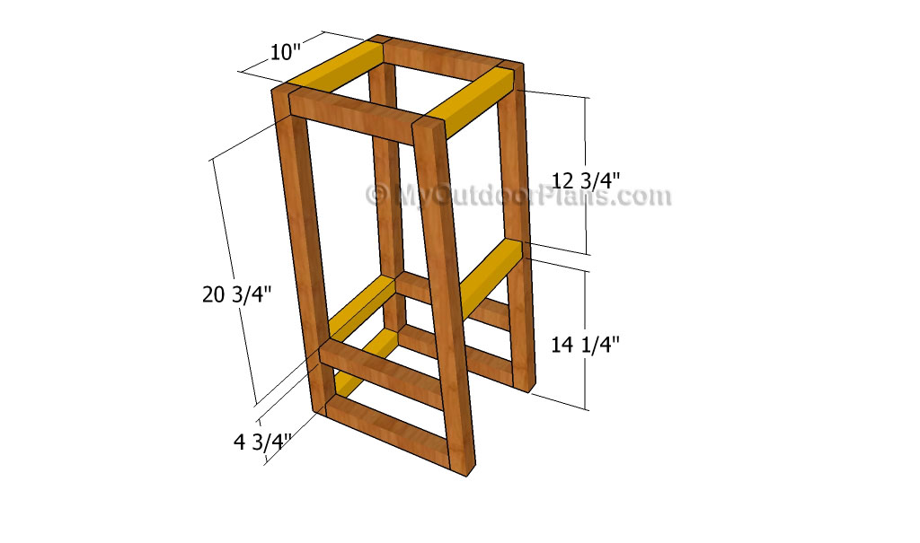 Bar Stool Plans   Free Outdoor Plans - DIY Shed, Wooden Playhouse, Bbq ...
