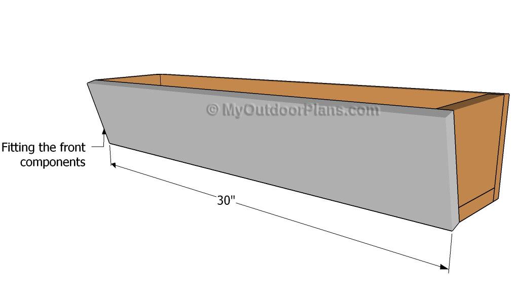 ... plans bulkhead construction materials window boxes planters plans