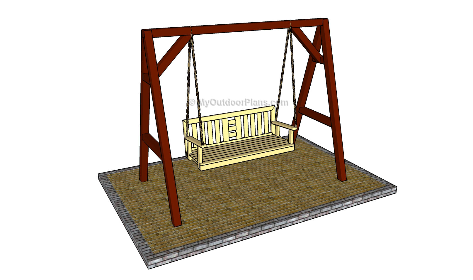 Free Porch Swing Plans | Free Outdoor Plans - DIY Shed, Wooden ...