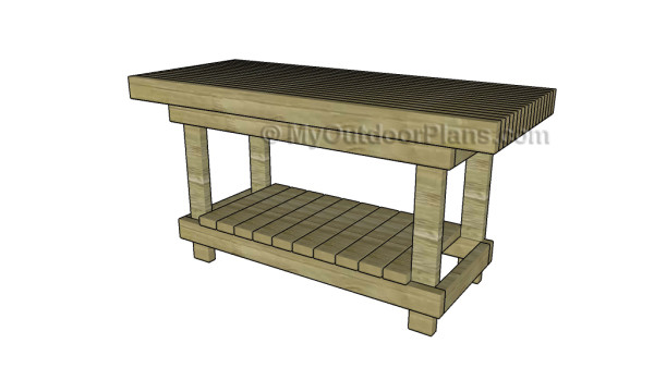 2x4 Workbench Plans | MyOutdoorPlans | Free Woodworking Plans and ...