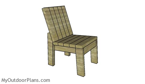 2x4 chair plans myoutdoorplans free woodworking plans for 2x4 furniture plans free